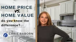 Tips for Home Buyers: Home price vs home value
